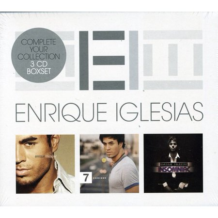 Enrique Iglesias Triple Pack (CD)