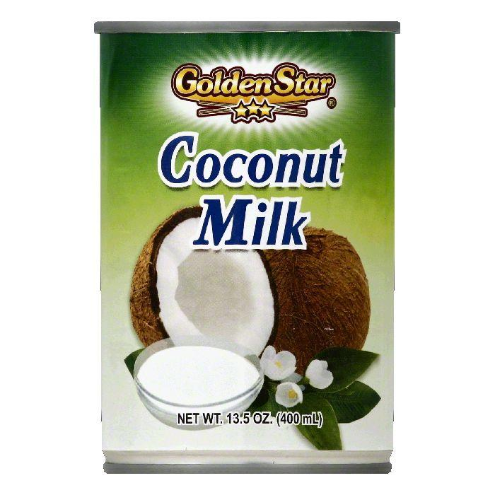 Golden Star Coconut Milk, 13.5 OZ (Pack of 12) by