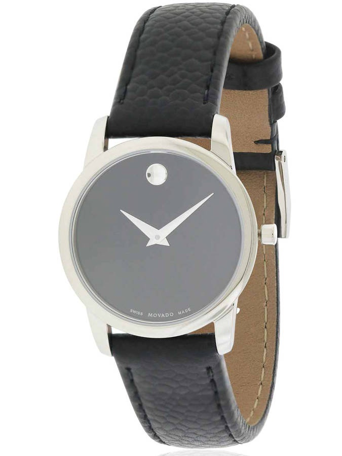 Museum Classic Leather Women's Watch, 0607015