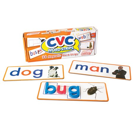 Junior Learning - CVC Word Strips Magnetic Learning Set
