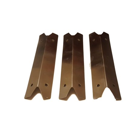 Barbecue Heat Angle - Set of 3 heat plates for Uniflame Bbq grill model GBC873W