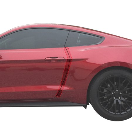 Red Hound Auto Door Edge Lip Guards 2015-2018 Compatible with Ford Mustang 2pc Clear Paint Protector Film Not Universal Pre-Cut Custom Fit Custom Fit Clear Film
