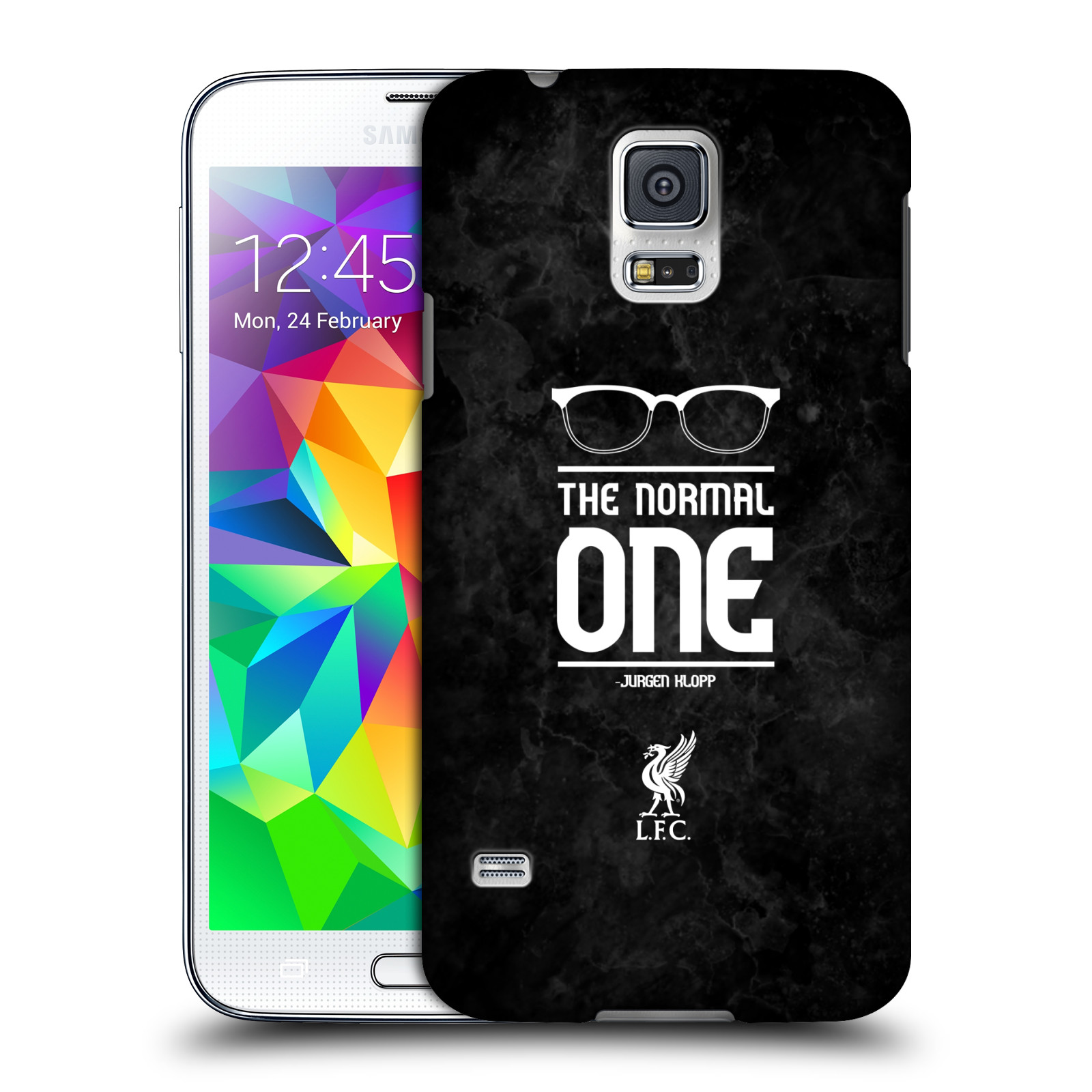 OFFICIAL LIVERPOOL FOOTBALL CLUB KLOPP ICONS HARD BACK CASE FOR SAMSUNG PHONES 1