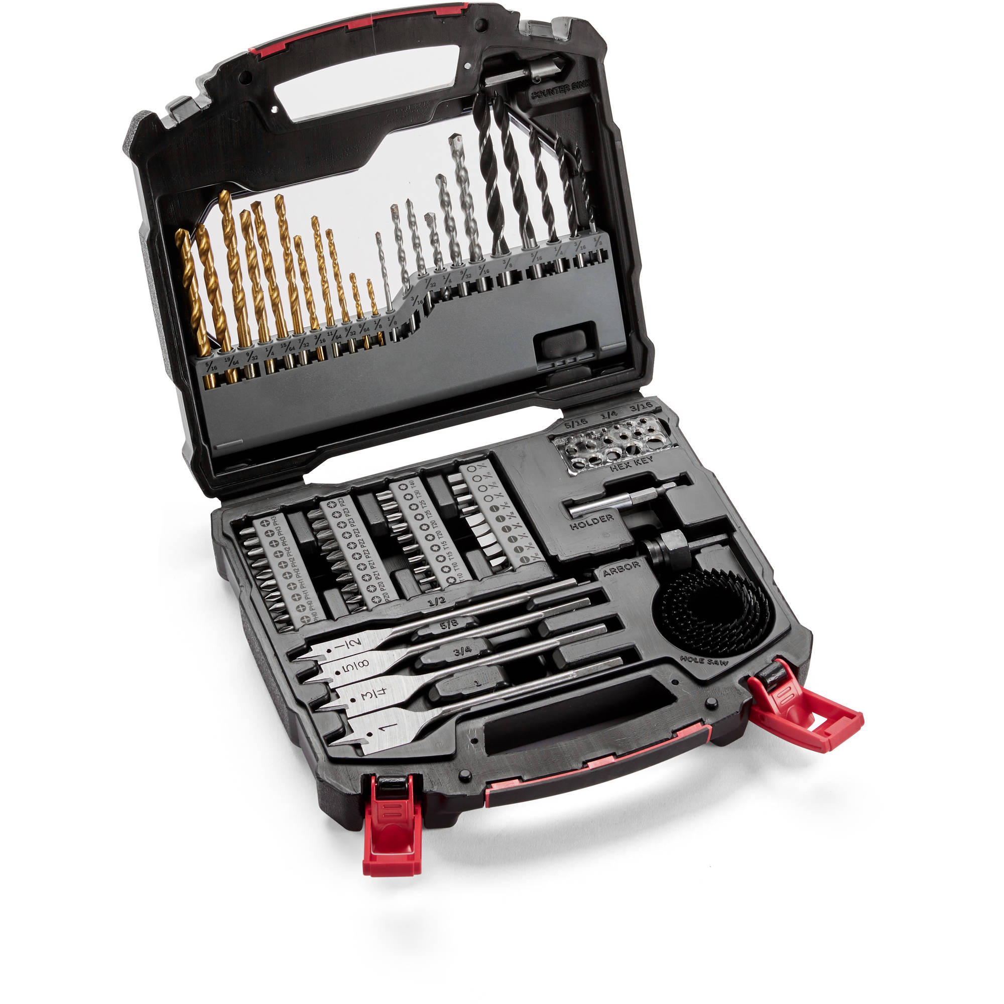 Hyper Tough 78-Piece Drill and Bits Set