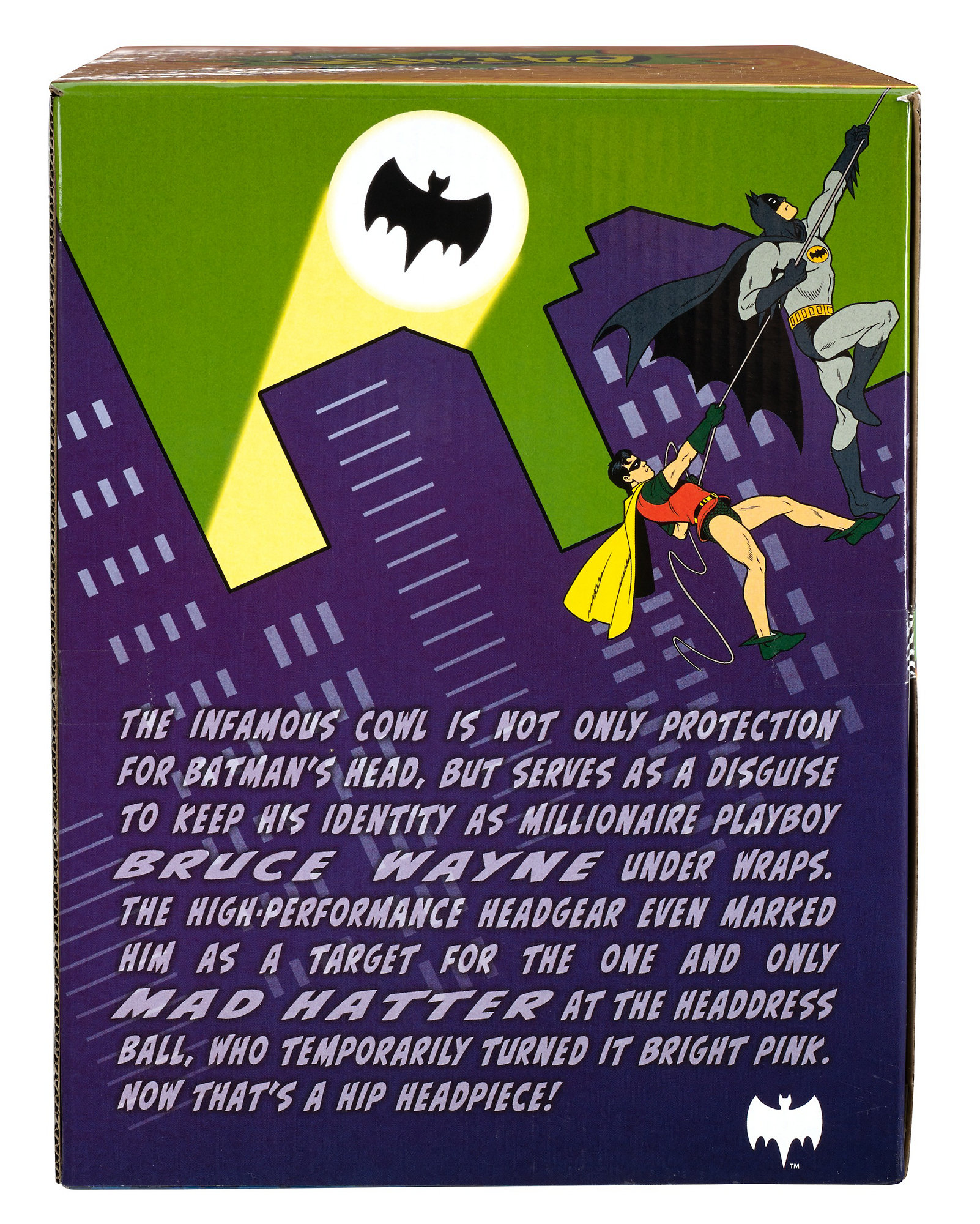 Mattel Batman Prop Replica Cowl Adam West 1966 Classic TV Series Adult Collector