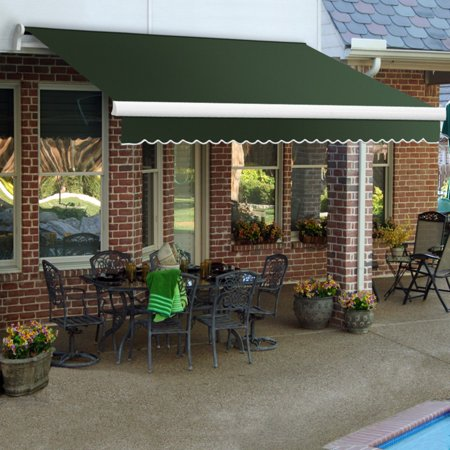 Awntech MAUI 14 ft. Motorized Retractable Awning (Beauty Mark Maui Motorized Awning)