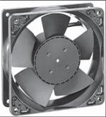 "4-2/3"" Square Axial Fan, 24VDC"