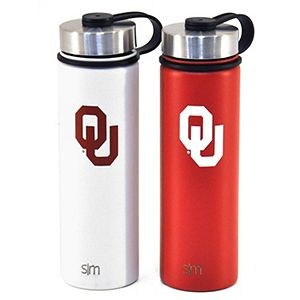 Simple Modern OU 22 oz. Wide Mouth Vacuum Insulated Stainless Steel Bottles (Pack of 2)