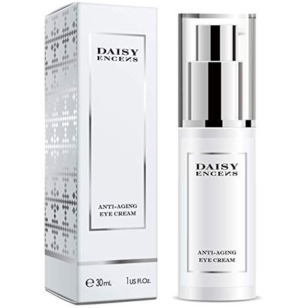 DAISY ENCENS Eye Cream for Appearance of Dark Circles, Puffiness, Wrinkles and Bags - for Under and Around Eyes