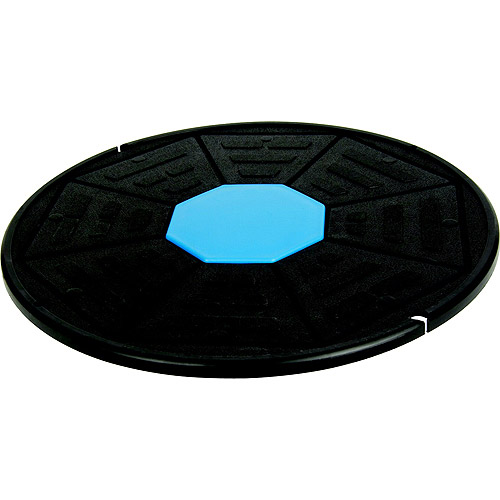 "Aeromat Circular Wobble Balance Board, 1.5"" to 2.5"" Height x 16.5"" Diameter, Multicolored"