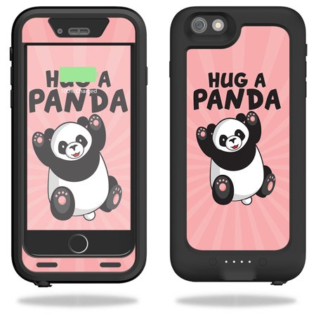Skin For Mophie Juice Pack H2Pro for iPhone 6 Plus/6s Plus Case – Hug A Panda | MightySkins Protective, Durable, and Unique Vinyl Decal wrap cover | Easy To Apply, Remove | Made in the USA (Iphone 6 Plus Mophie Juice)