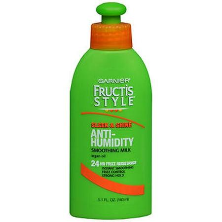 Garnier Fructis Style Sleek Shine Anti-Humidity Smoothing Milk - 5.1