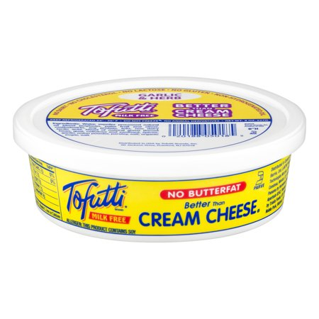 Creamy Cheese (Tofutti Milk Free Garlic & Free Better Cream Cheese, 8 Oz. )