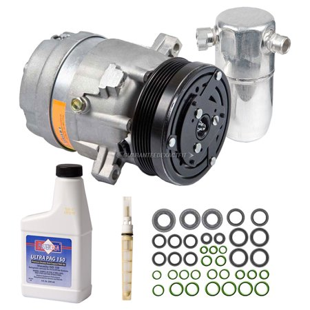 AC Compressor w/ A/C Repair Kit For Buick Park Avenue 2000-2005