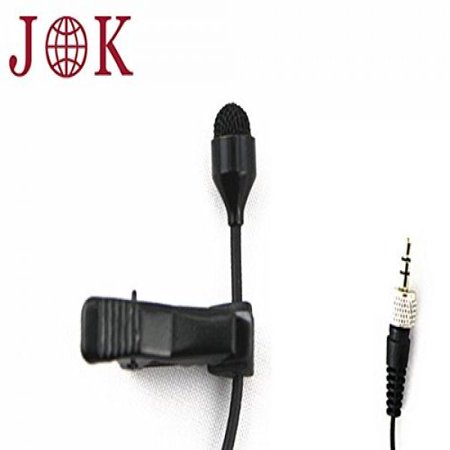 (Pro Lavalier Lapel Microphone JK MIC-J 044 for Sennheiser Wireless Transmitter - Omnidirectional Condenser Mic)