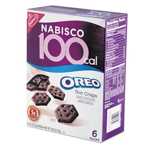 100 Calorie Packs Oreo Cookies, 6/Box