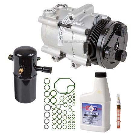 Mercury Grand Marquis Differential - AC Compressor w/ A/C Repair Kit For Ford Victoria Mercury Grand Marquis