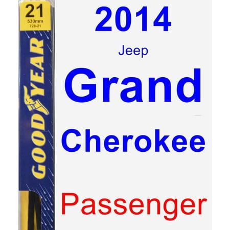 2014 Jeep Grand Cherokee Passenger Wiper Blade -