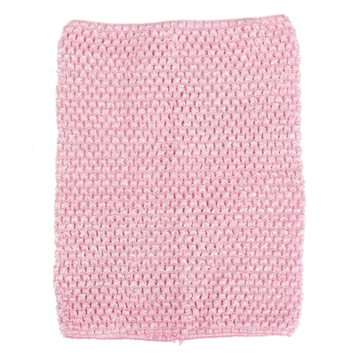 12'' Crochet Tube Top Elastic Waistband Headband Hair Band For Girls Tutu Skirt