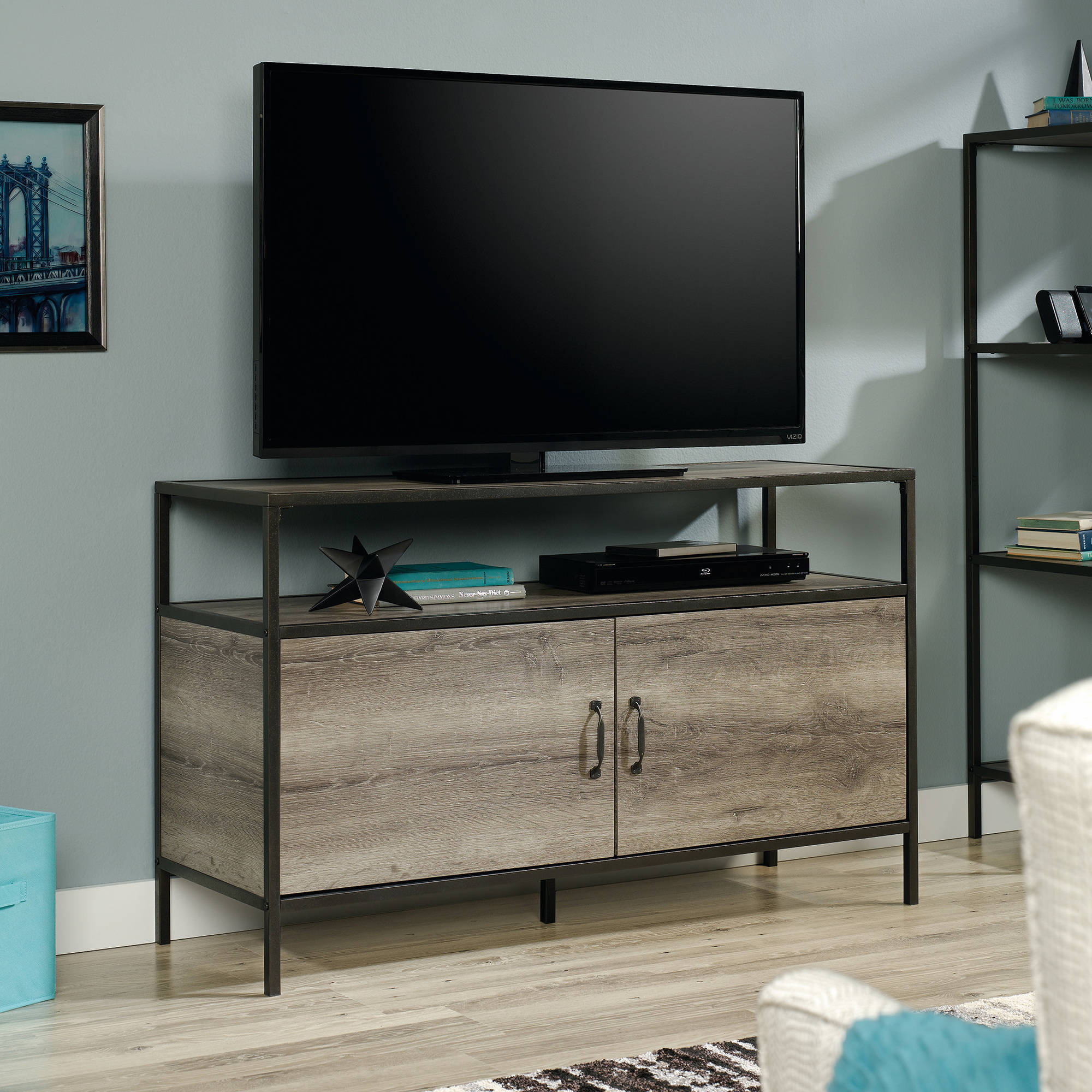 Mainstays Metro Tv Stand For Tvs Up To 50 Multiple Finishes