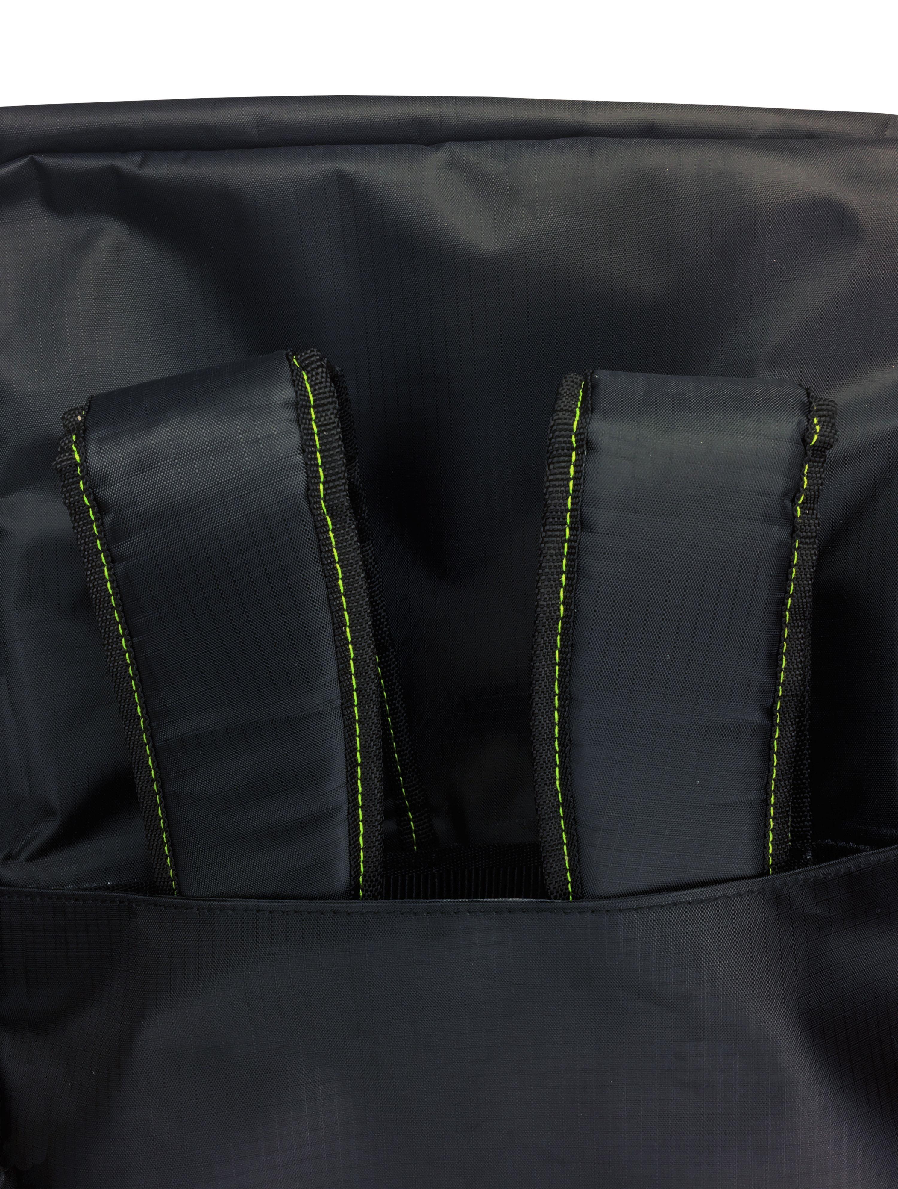 Flamingo Jungle White Mint Travel Duffel Bag Waterproof Fashion Lightweight Large Capacity Portable Luggage Bag