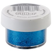 Clearsnap Colorbox Glitter, Twinkling Turquoise Multi-Colored