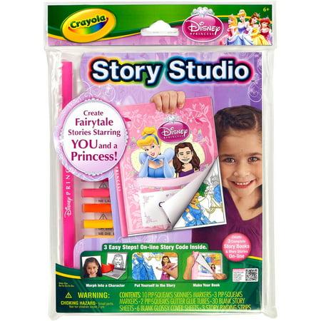 Crayola Story Studio Fairytale Disney Princess