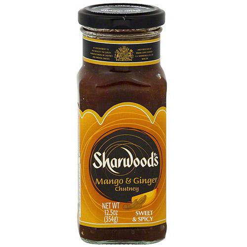 Sharwood's Sweet & Spicy Mango & Ginger Chutney, 12.5 oz (Pack of 6)