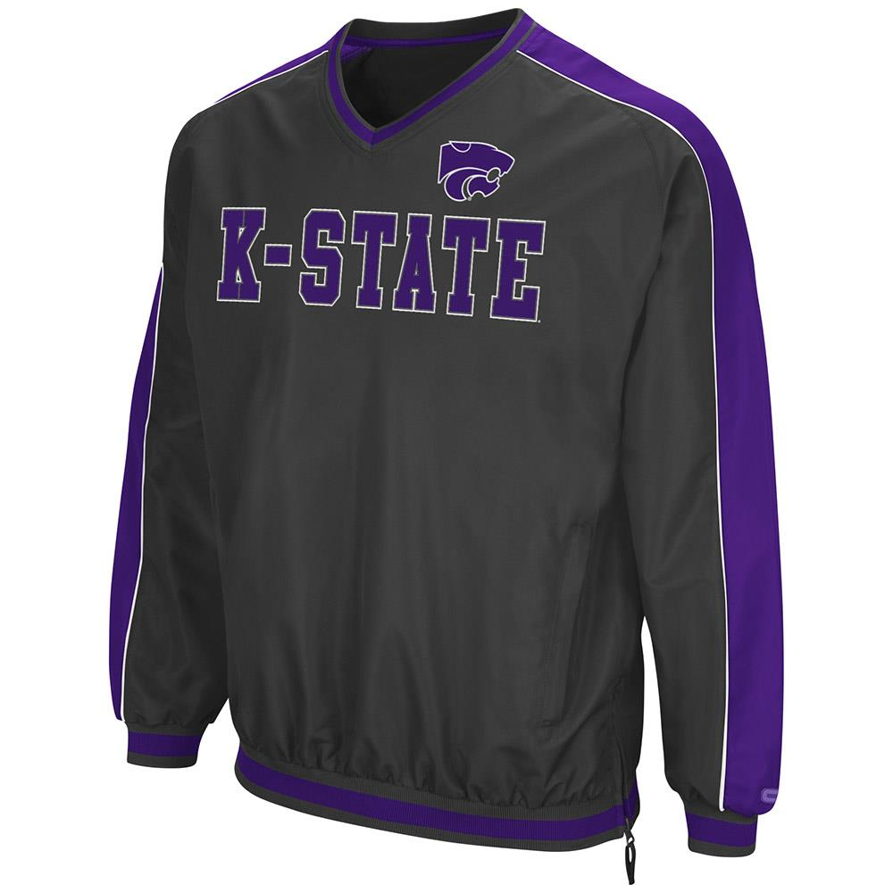 Mens Kansas State Wildcats Attack Line Wind Breaker Jacket by Colosseum