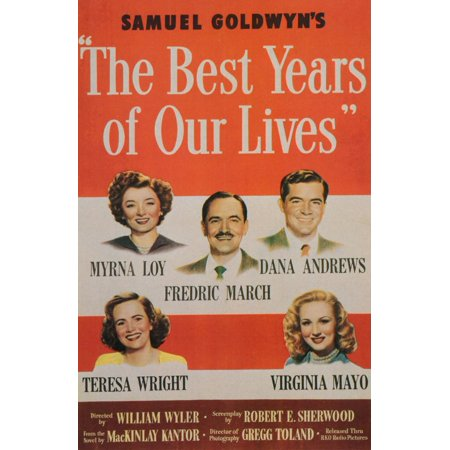The Best Years of Our Lives (1946) 11x17 Movie
