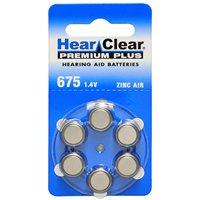 60 Hearclear Hearing Aid Batteries Size: 675