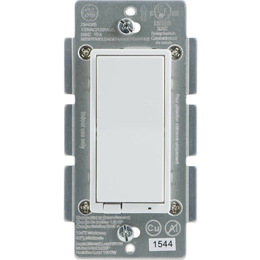 GE Z-Wave Plus Smart Switch, In-Wall