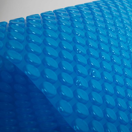 Image of Blue Wave 12-mil Solar Blanket for Hot Tubs - 7-ft x 8-ft Rectangular Spa Cover with UV-Resistant Thermal Bubbles