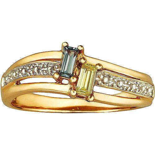 Keepsake Personalized Beloved Promise Ring with Birthstones