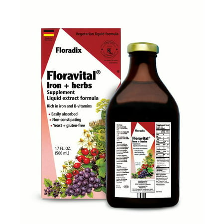 5 Iron Head - Salus-Haus Floravital Iron plus Herbs 17 Oz