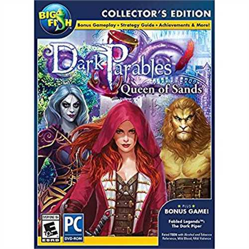 Encore Software Big Fish Games Dark Parables 9: Queen of Sands Collectors Edition