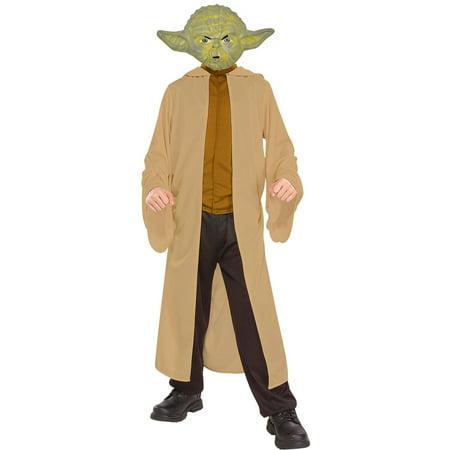 Yoda Boys Child Halloween Costume