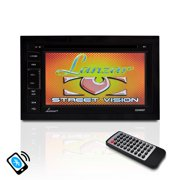 PYLE SDN65BT - 6.5'' Video Headunit Receiver, Bluetooth Wireless Streaming, CD/DVD Player, Double DIN