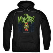 The Munsters 50 Year Logo Mens Pullover Hoodie