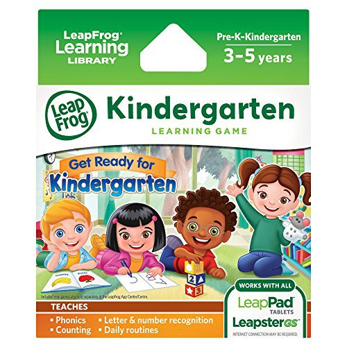 LeapFrog Learning Game: Get Ready for Kindergarten (for LeapPad tablets and LeapsterGS) by LeapFrog