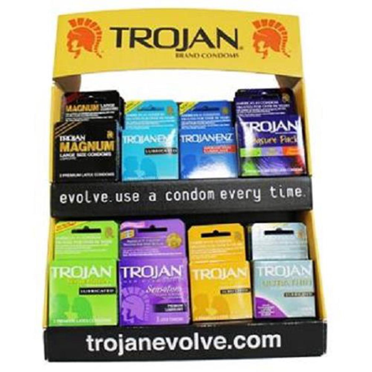 Product Of Trojan, Magnum Condoms - Jar, Count 48 - Birth Control / Grab Varieties & Flavors