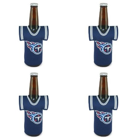 NFL Tennessee Titans Jersey Bottle Koozie 4 pack