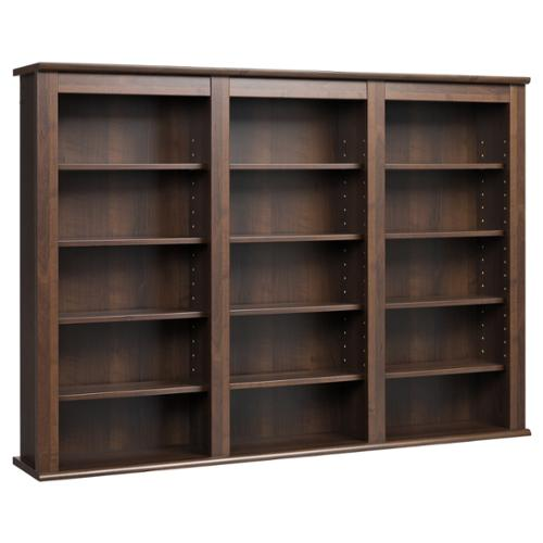 Wall Hanging Cabinet prepac everett espresso wall -hanging media storage cabinet
