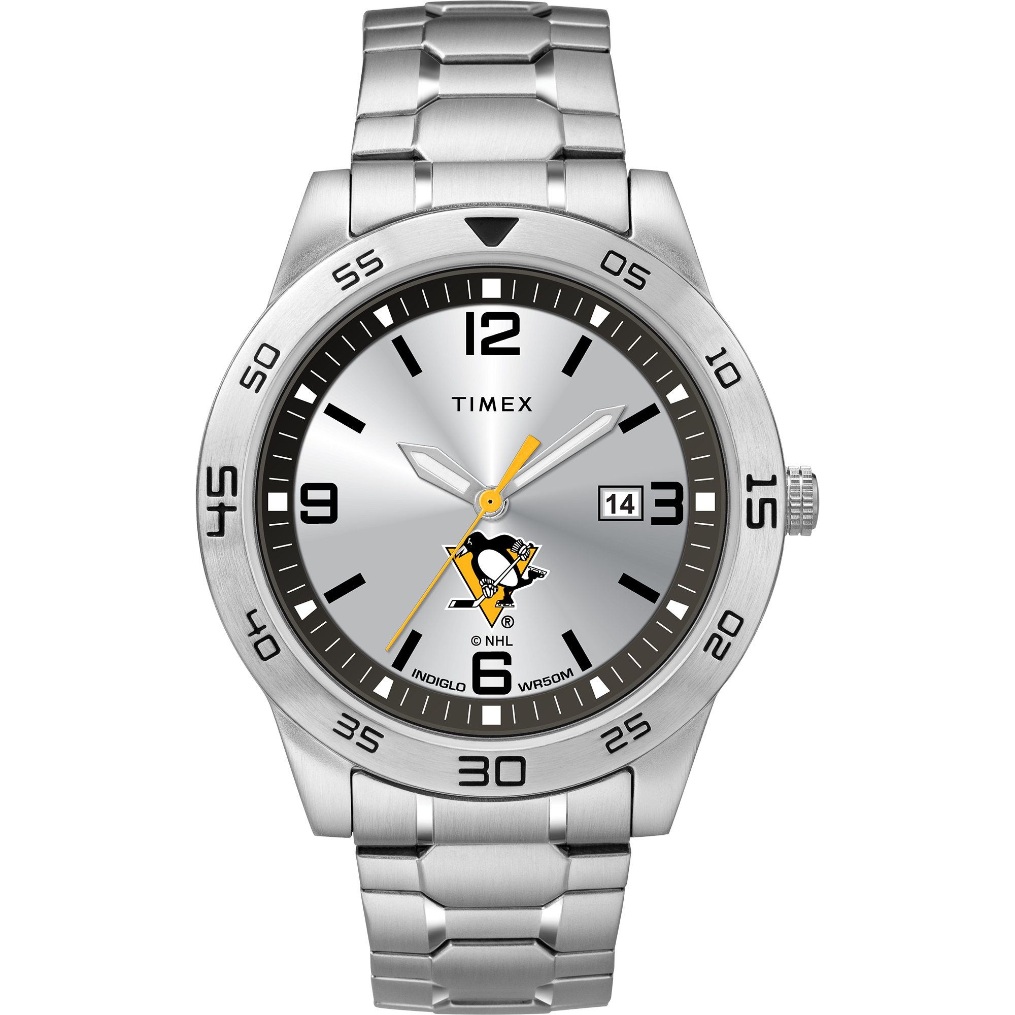 Timex - NHL Tribute Collection Citation Men's Watch, Pittsburgh Penguins