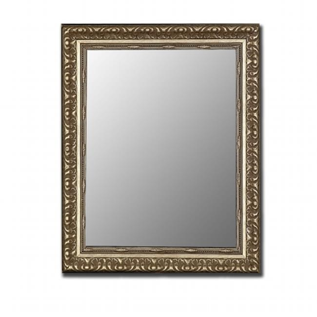 2nd Look Mirrors 320200 26x36 Antique Silver Mirror