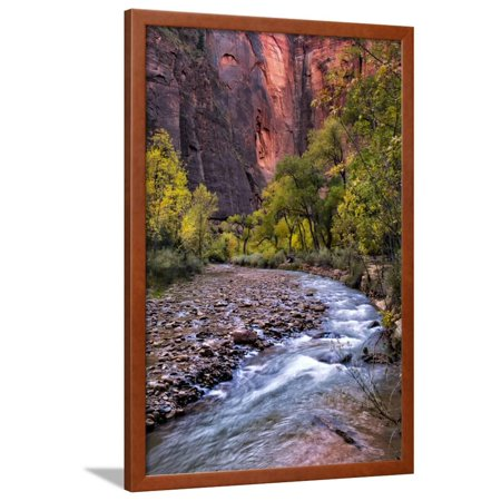 Upstream Framed - Looking Upstream II Framed Print Wall Art By Danny Head