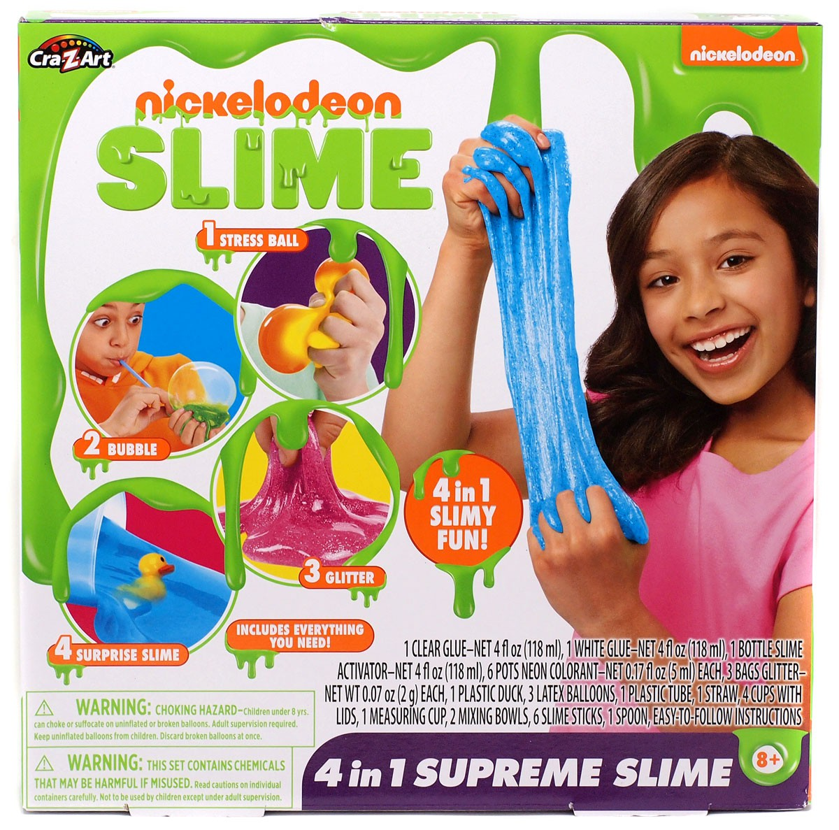 Nickelodeon 4 in 1 Supreme Slime Kit