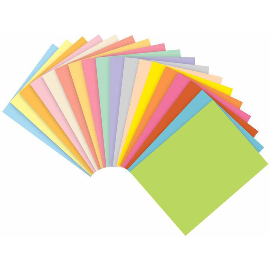 "Domtar Exact Colored Copy Paper, 8.5"" x 11"", 20 Pound, Multiple Colors, Pack of 500"
