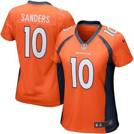 new products ff076 fa186 Emmanuel Sanders Denver Broncos Nike Girls Youth Game Jersey - Orange