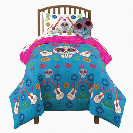 wholesale dealer f0938 8d163 Pixar CoCo Full Comforter & Sheets (5 Piece Bed In A Bag)
